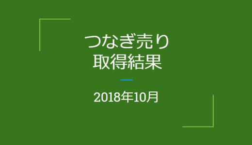 【つなぎ売り】2018年10月 SBI証券・楽天証券クロス取引の結果!