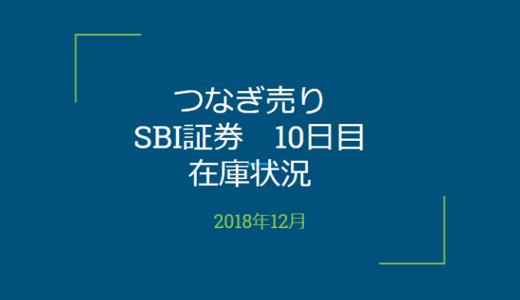 2018年12月一般信用の売り在庫状況 SBI証券10日目(優待クロス取引)