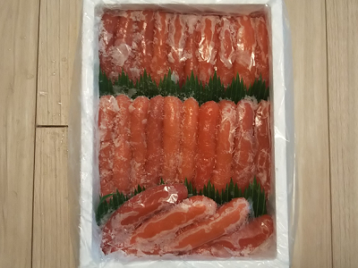 北海道白糠町から、たらこ1kgをふるさと納税の返礼品として貰いました。