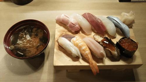 ヨシックスの株主優待を使って「や台ずし」でお寿司を食べてきました