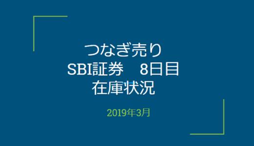 2019年3月一般信用の売り在庫状況 SBI証券8日目(優待クロス取引)