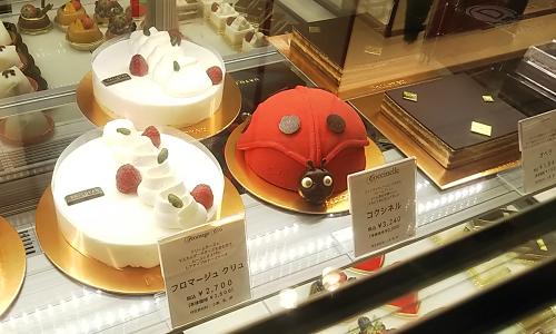 不二家の株主優待で高級洋菓子店のダロワイヨでケーキを買いました
