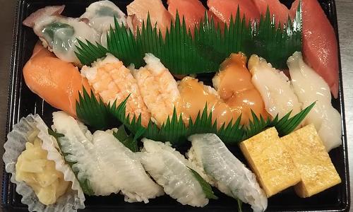 かっぱ寿司で20%OFFクーポンと株主優待を使ってテイクアウトしてきました。