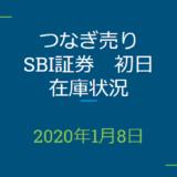 2020年1月一般信用の売り在庫状況 SBI証券初日(優待クロス取引)