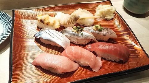 SFPの株主優待を使って「きづな寿司」でお寿司を食べてきました