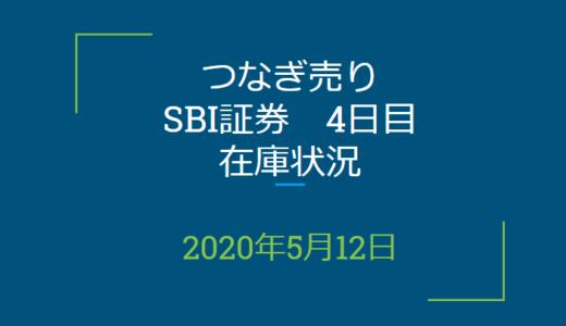 2020年5月一般信用の売り在庫状況 SBI証券4日目(優待クロス取引)