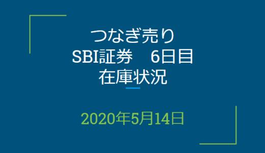 2020年5月一般信用の売り在庫状況 SBI証券6日目(優待クロス取引)