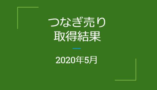 2020年5月つなぎ売り、取得結果【優待クロス】