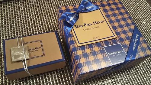エクセディの株主優待で注文したジャン=ポール・エヴァンの高級菓子が到着